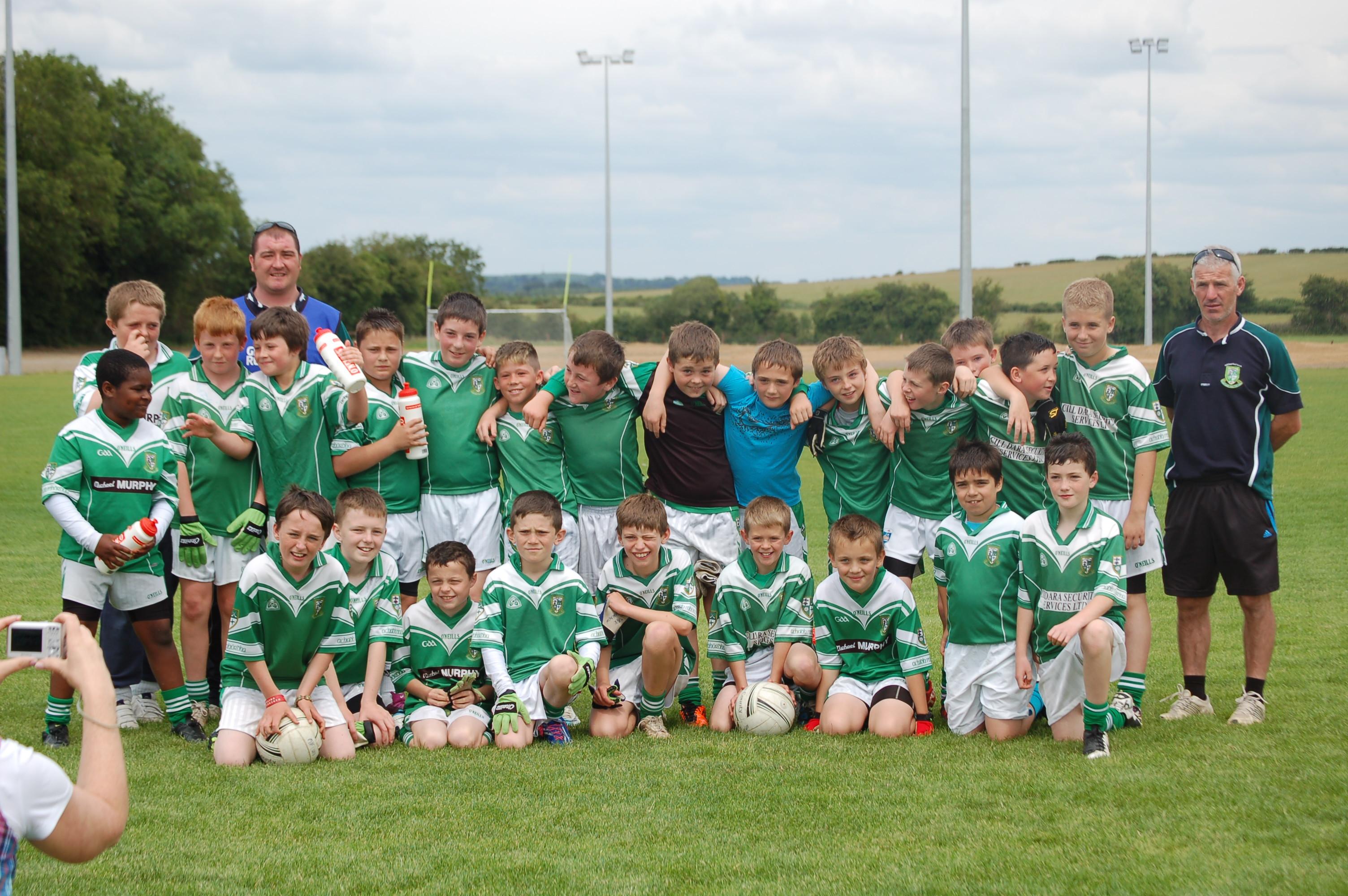 Meet The Under 11 Boys Football Team Moorefield Gaa