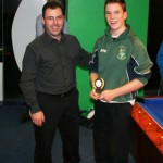 U13 Most Improved Player 2011 - Aron Walshe