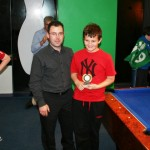 U13 Best Effort Award winner Ryan Forte
