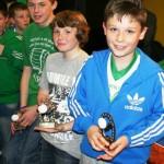 U12 Award Winners Jo Jo Conlon : Liam Hubbock : Sean Kerr