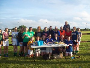 Ladies football C Cusick 2013