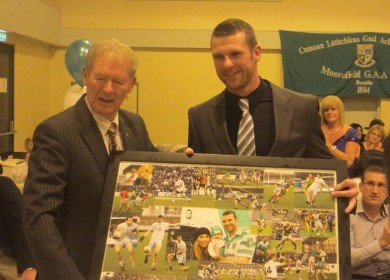 Presentation to Ronan Sweeney