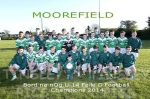 Under 14 Feile D Champions 14