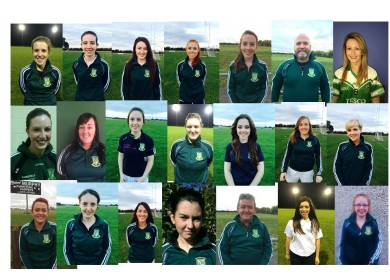 Camogie Team 2014