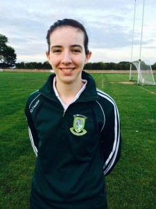 Ciara Conaty Age: 19 Height: 5'8 Position: Half forward Occupation: Student Favourite Player: Colm 'Gooch' Cooper