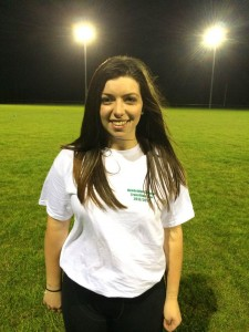 "Laura Hannon 17 5""7' Wing/Corner Forward Student Favourite Player: Kate Hannon/Katie Taylor"
