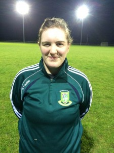 Louise McMullen 25 5ft 6.5inches Full Forward Medical Admin Joe Canning