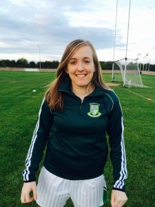 "Niamh McMullen  Age 25  Height 5' 7""  Corner Forward Occupation: Trainee driving instructor Favourite Player:   Micheal Murphy (Donegal)"