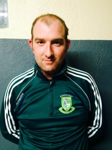 Ian Doyle (31) Corner Back  Defence Forces Favourite Player- Larry Murphy