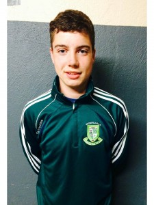 Reece Gavin M (17)  Centre Forward Student Favourite Player- Seamus Calahnan