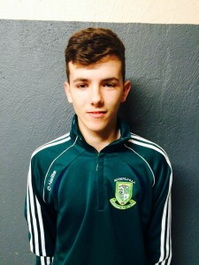 Tommy Walsh (16) Wing Back Student  Favourite Player-Tommy Walsh
