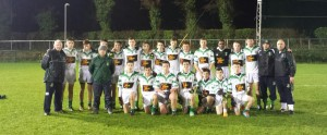 Under 15 Kildare Laois Nov 2014