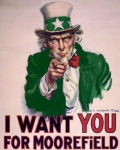 I want you for Moorefield