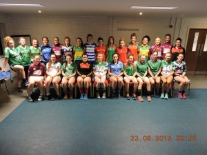 kILDARE LADIES 2015