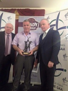 Matthew Kemmy hurler of the year 2015