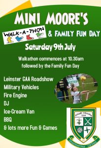 Mini Moore's Walkathon
